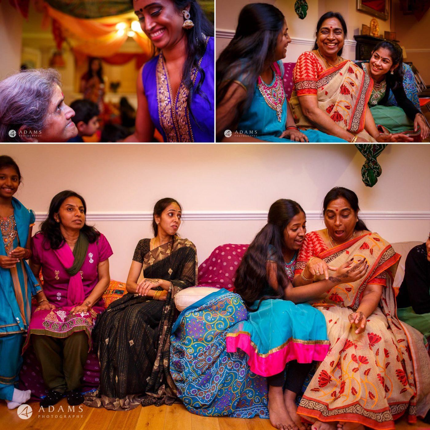 Tamil Mehndi Night | Tamil Gold Melting Ceremony 2