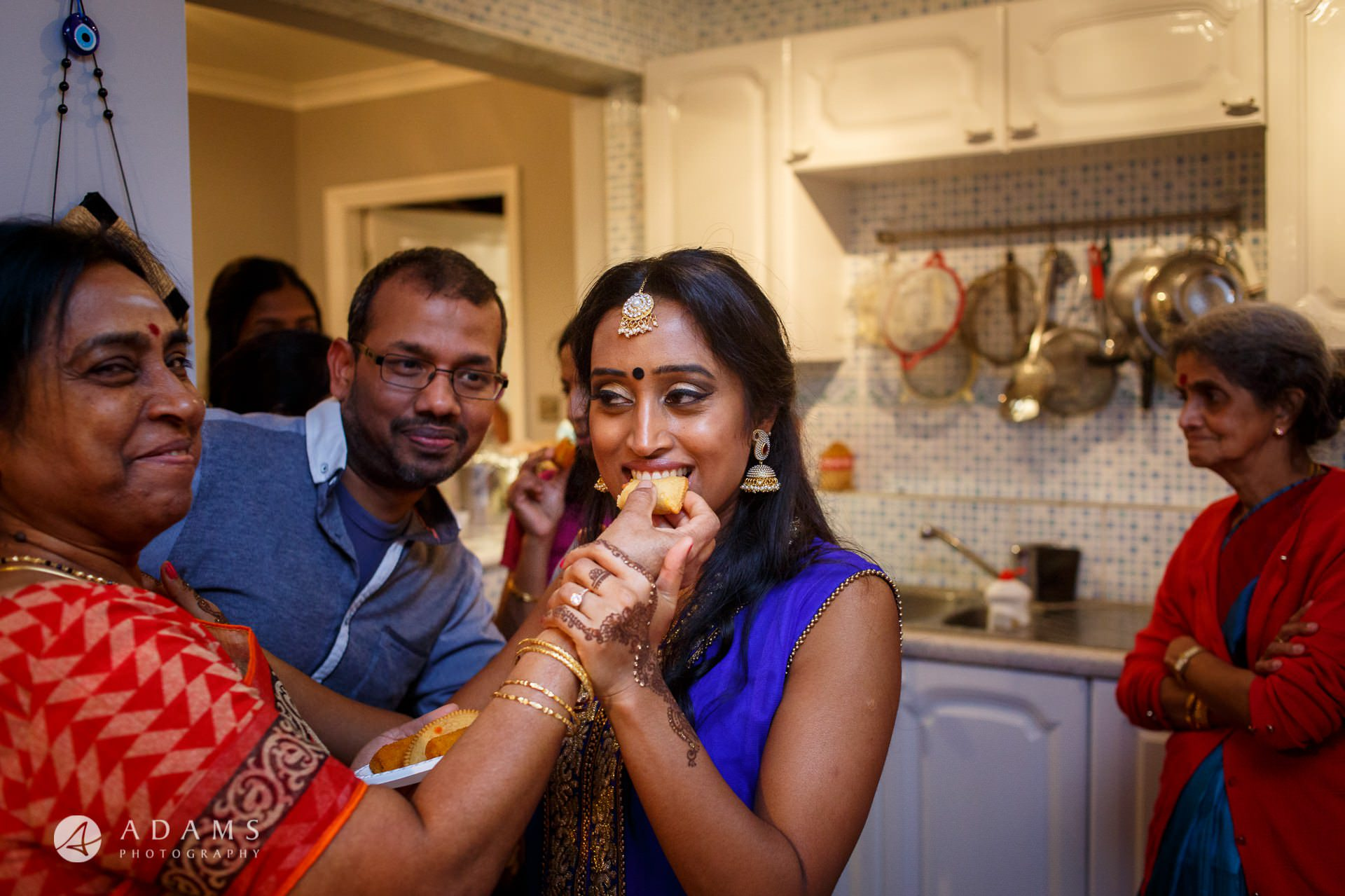 Tamil Mehndi Night | Tamil Gold Melting Ceremony 20