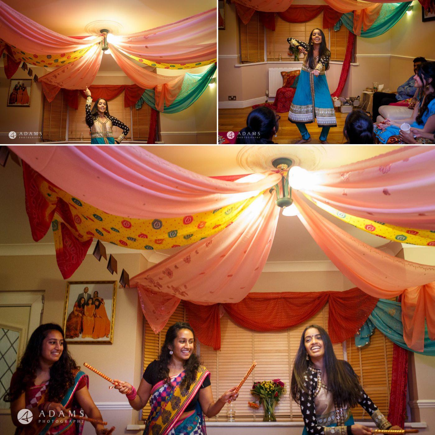 Tamil Mehndi Night | Tamil Gold Melting Ceremony 21