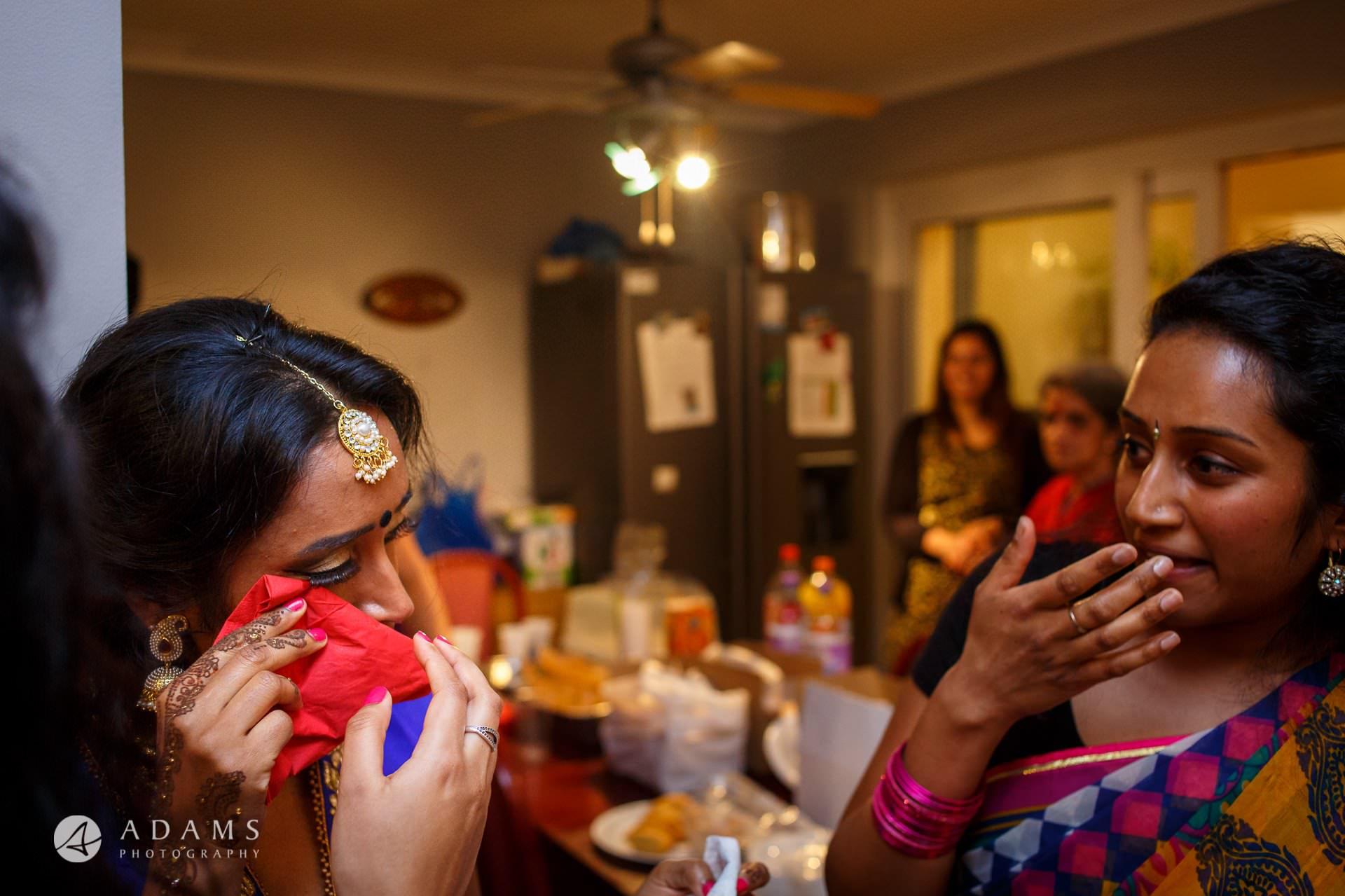 Tamil Mehndi Night | Tamil Gold Melting Ceremony 23