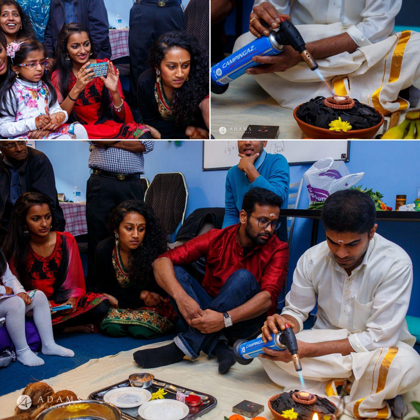 Tamil Mehndi Night | Tamil Gold Melting Ceremony 30