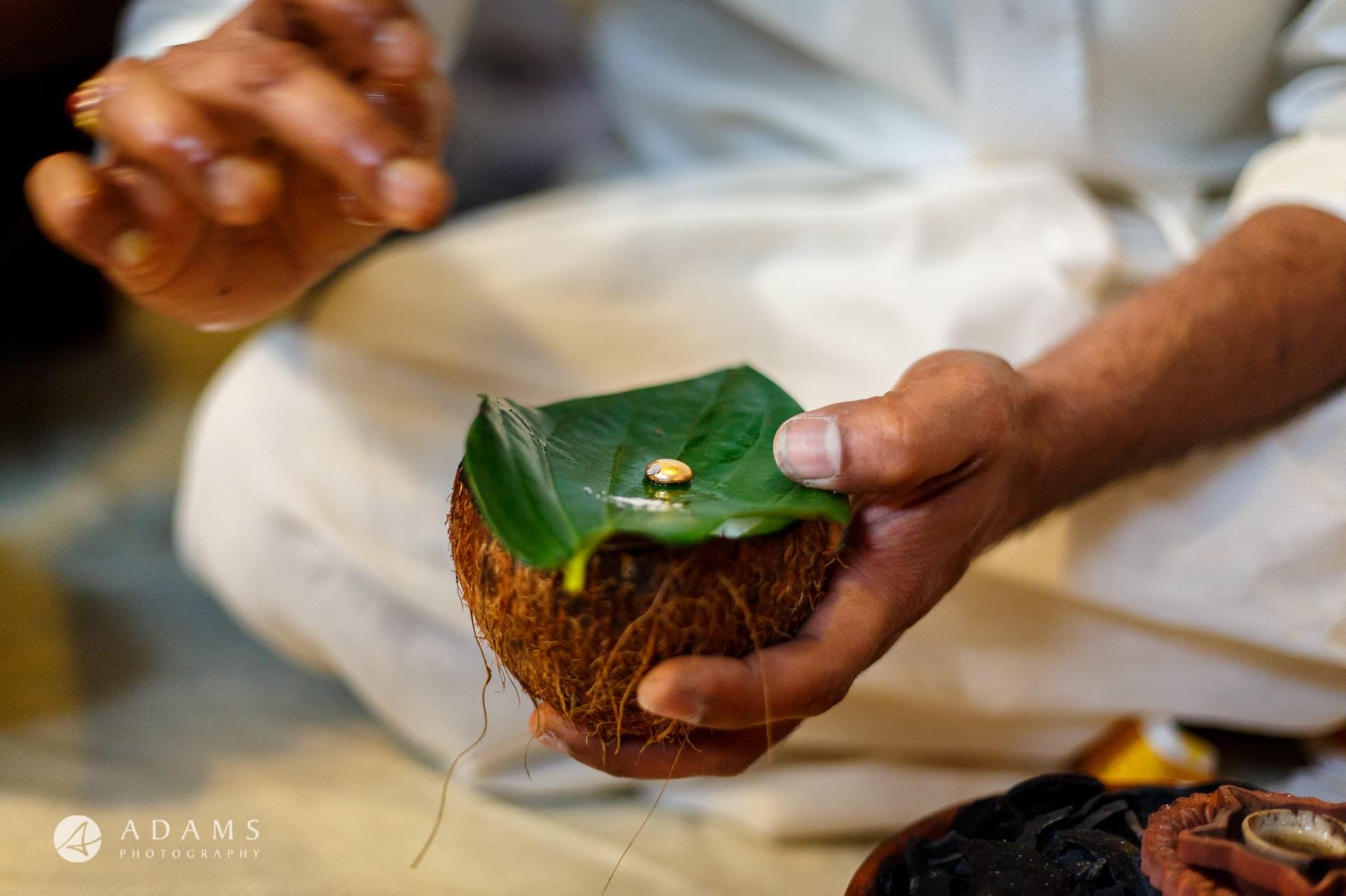 Tamil Mehndi Night | Tamil Gold Melting Ceremony 32