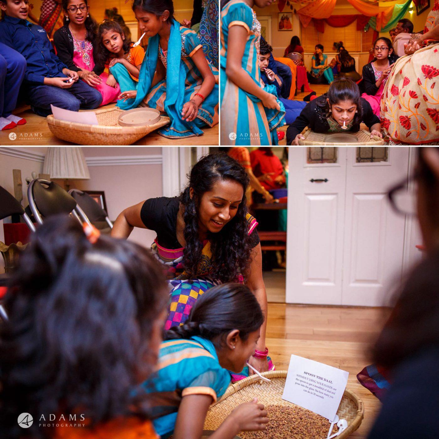 Tamil Mehndi Night | Tamil Gold Melting Ceremony 39