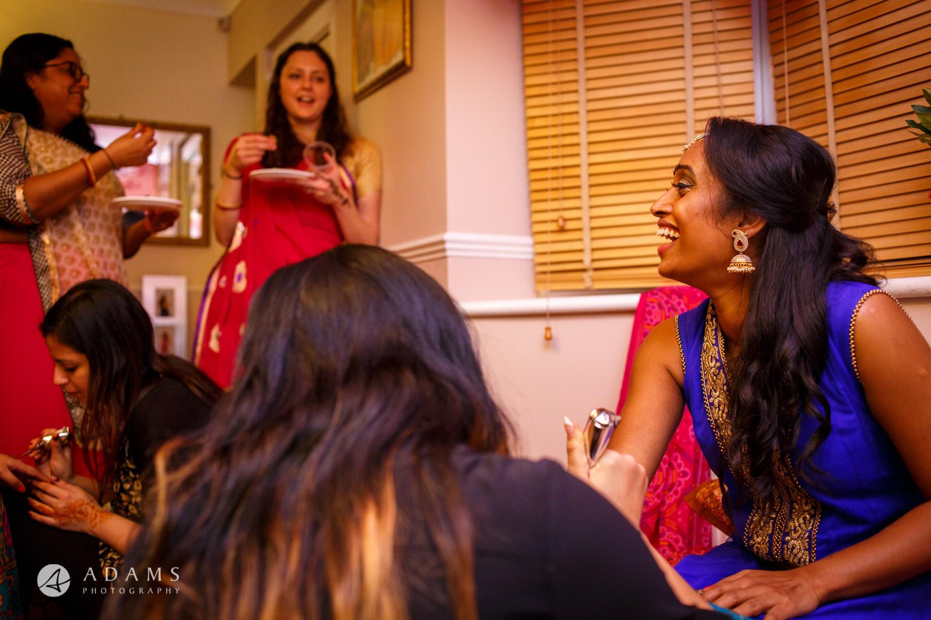 Tamil Mehndi Night | Tamil Gold Melting Ceremony 5