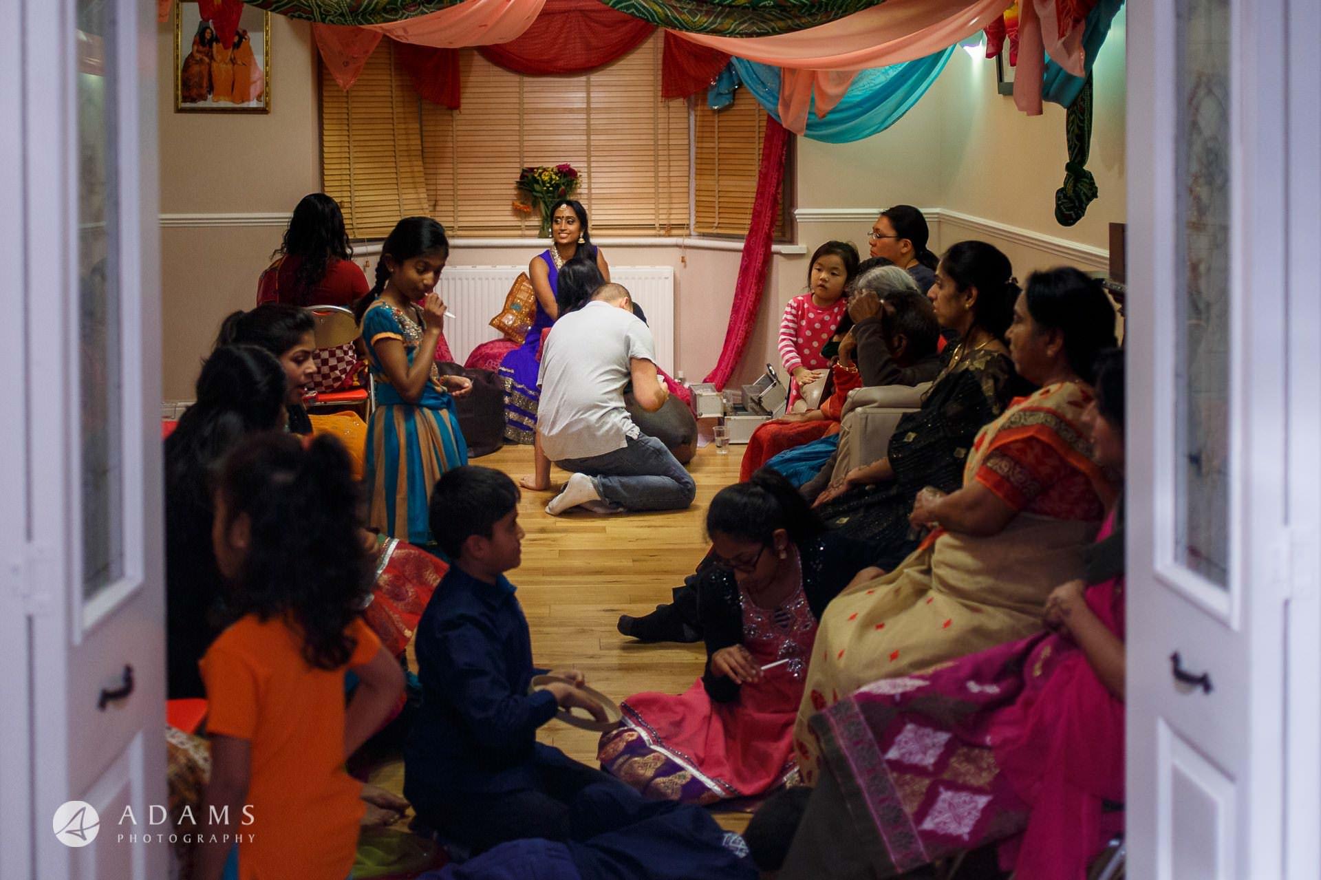 Tamil Mehndi Night | Tamil Gold Melting Ceremony 6