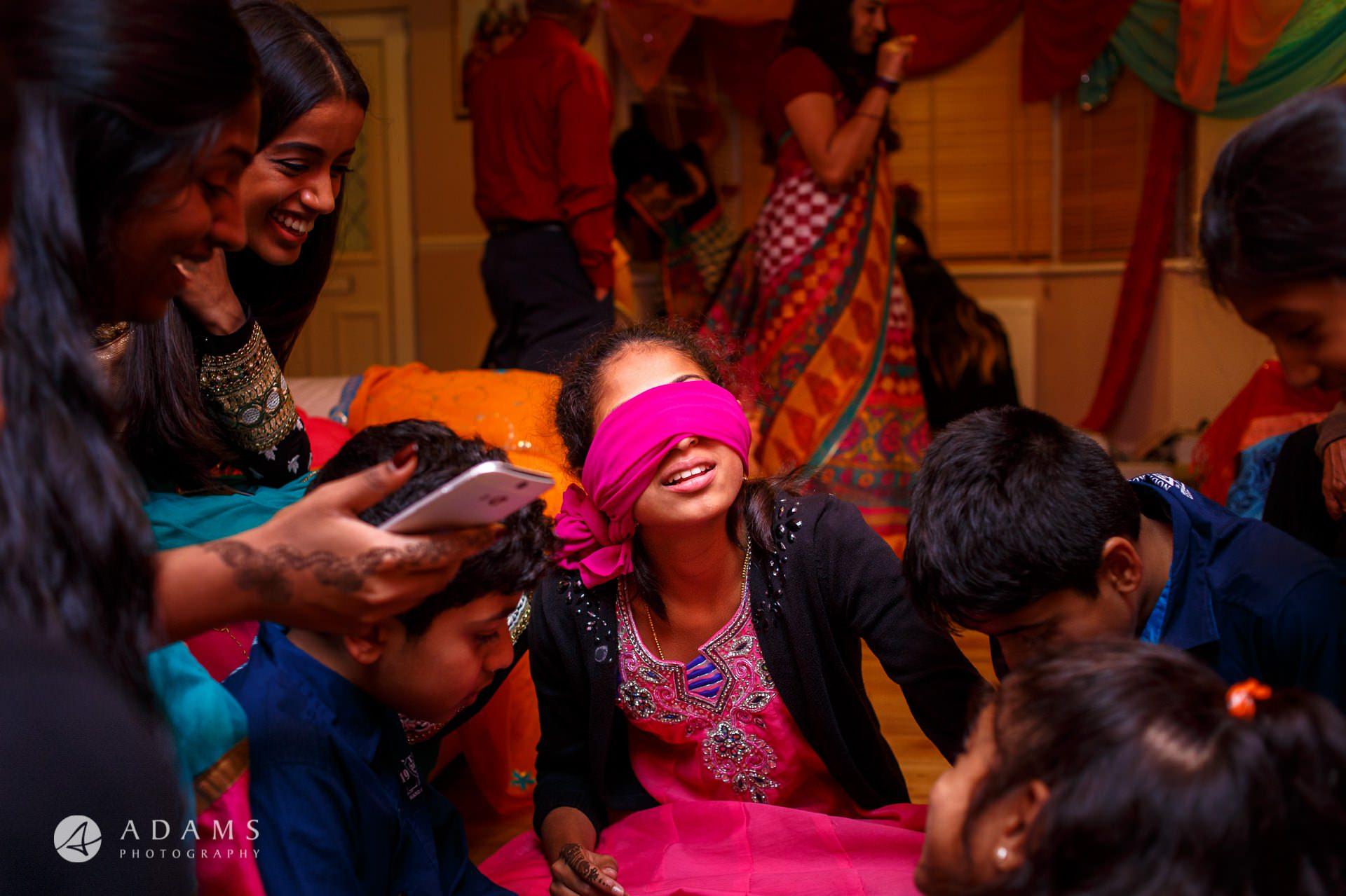 Mehndi Night Ceremony : Tamil mehndi night gold melting ceremony