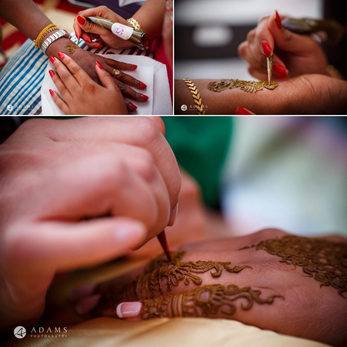 tamil tatoos which are made before the wedding