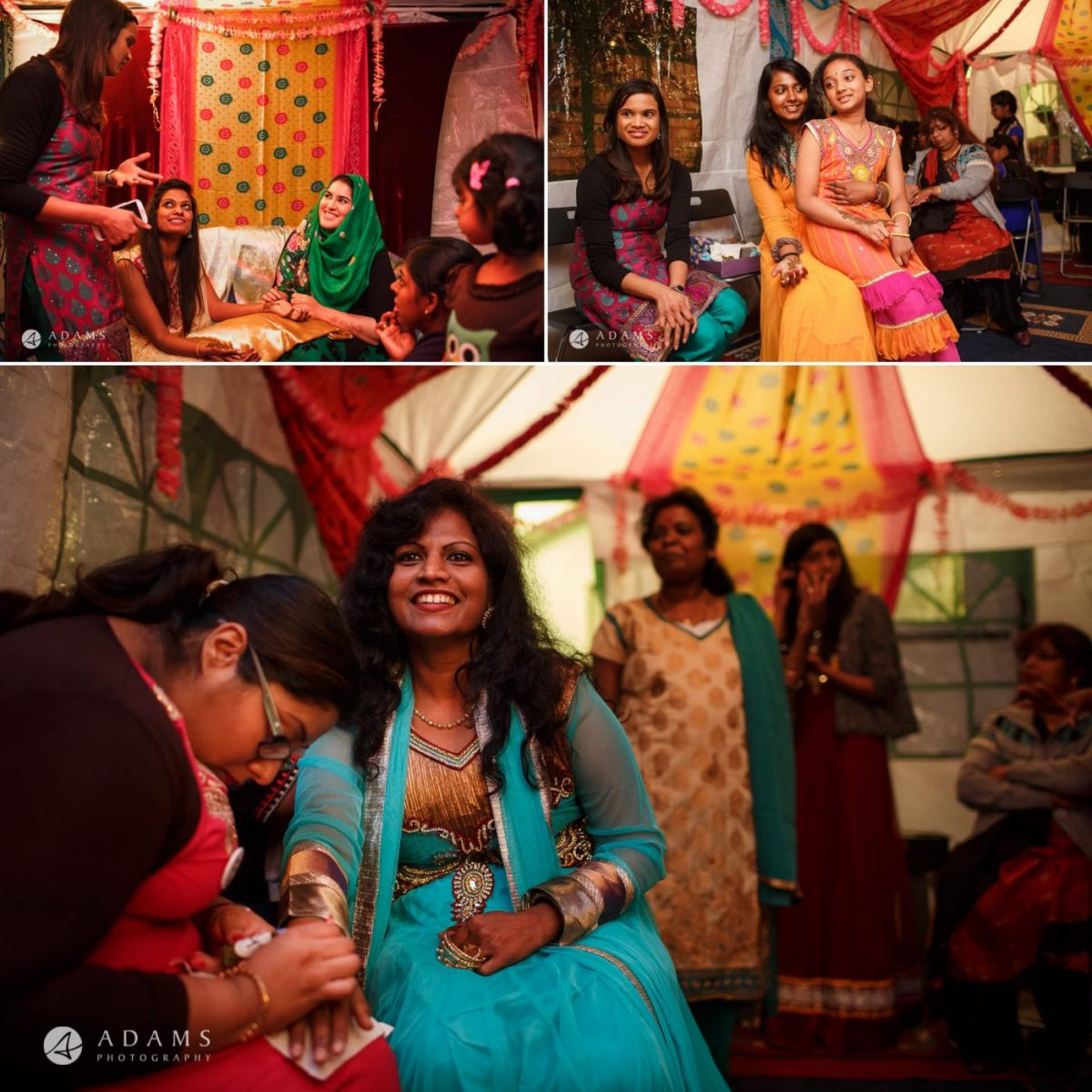wedding of sara and anojan in london