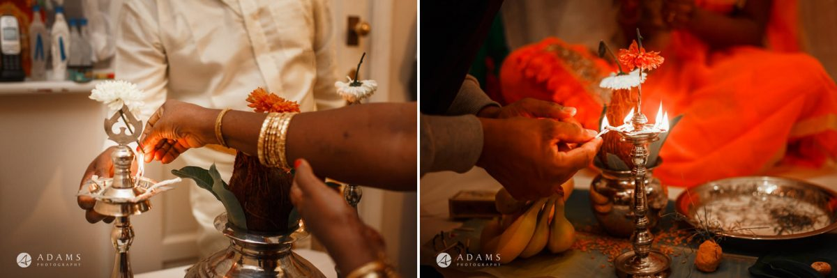 tamil wedding in traditional style