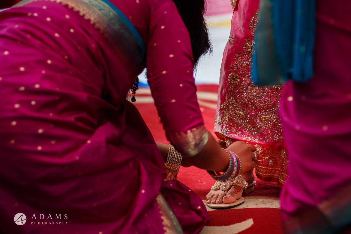 preparations before the tamil wedding