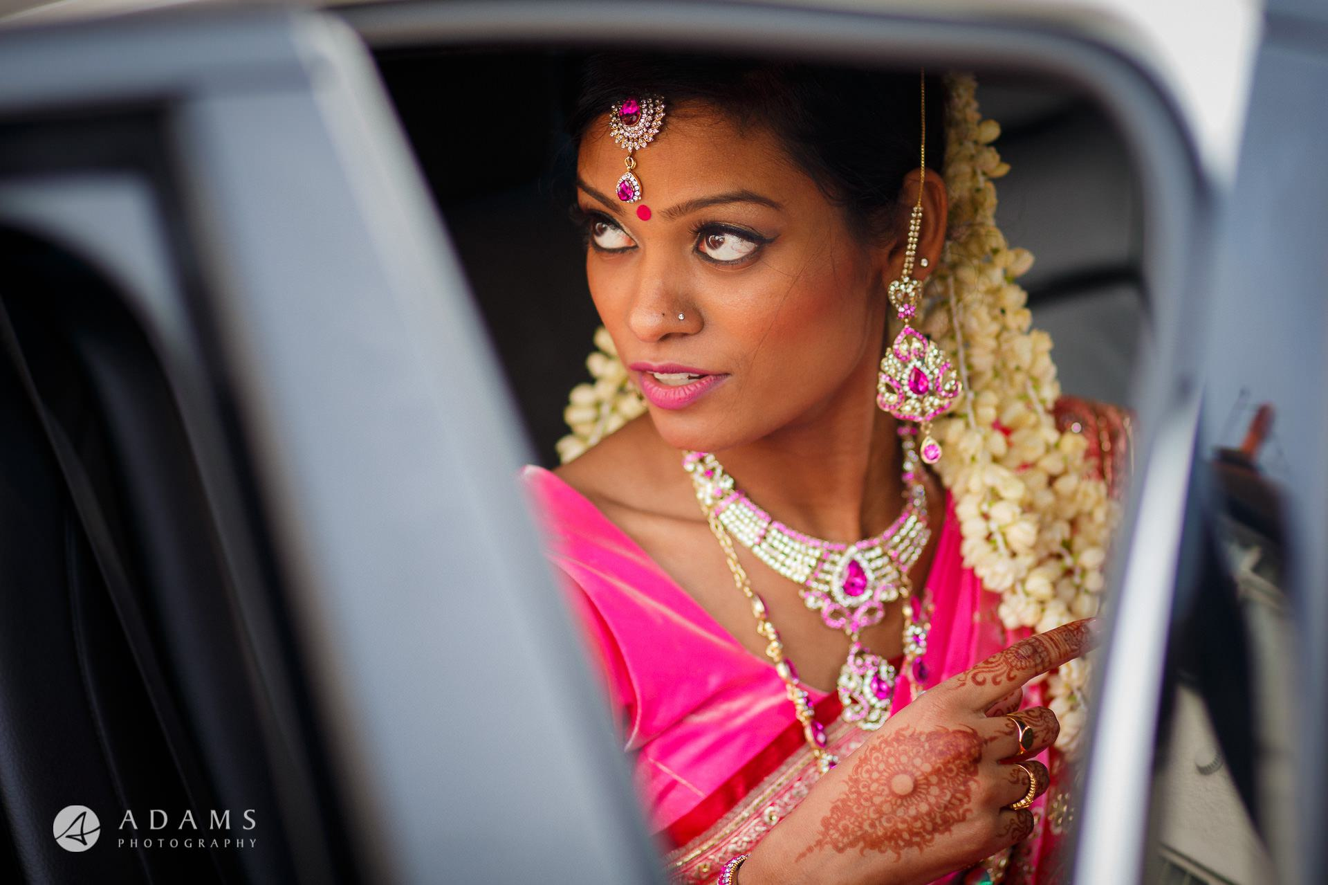 tamil woman dressed traditionally