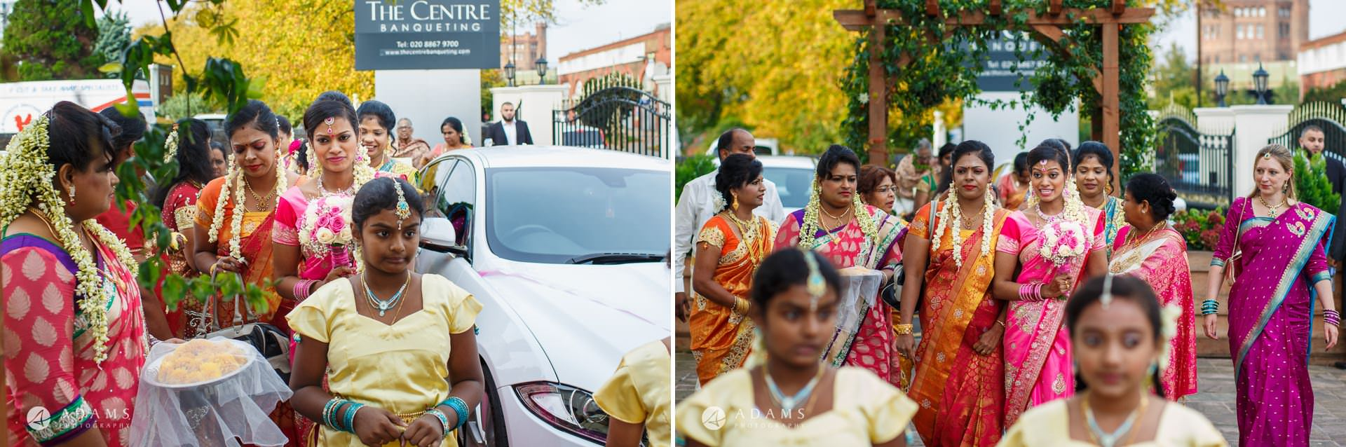 guests before the tamil wedding