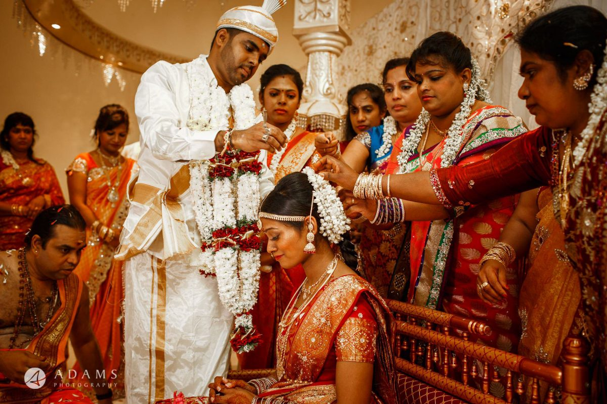 ceremony of the tamil wedding london