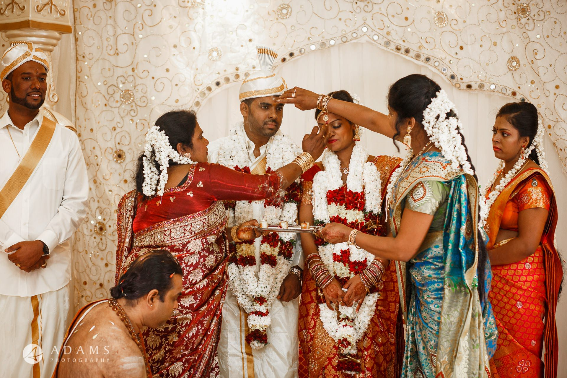 photography of the tamil traditional wedding