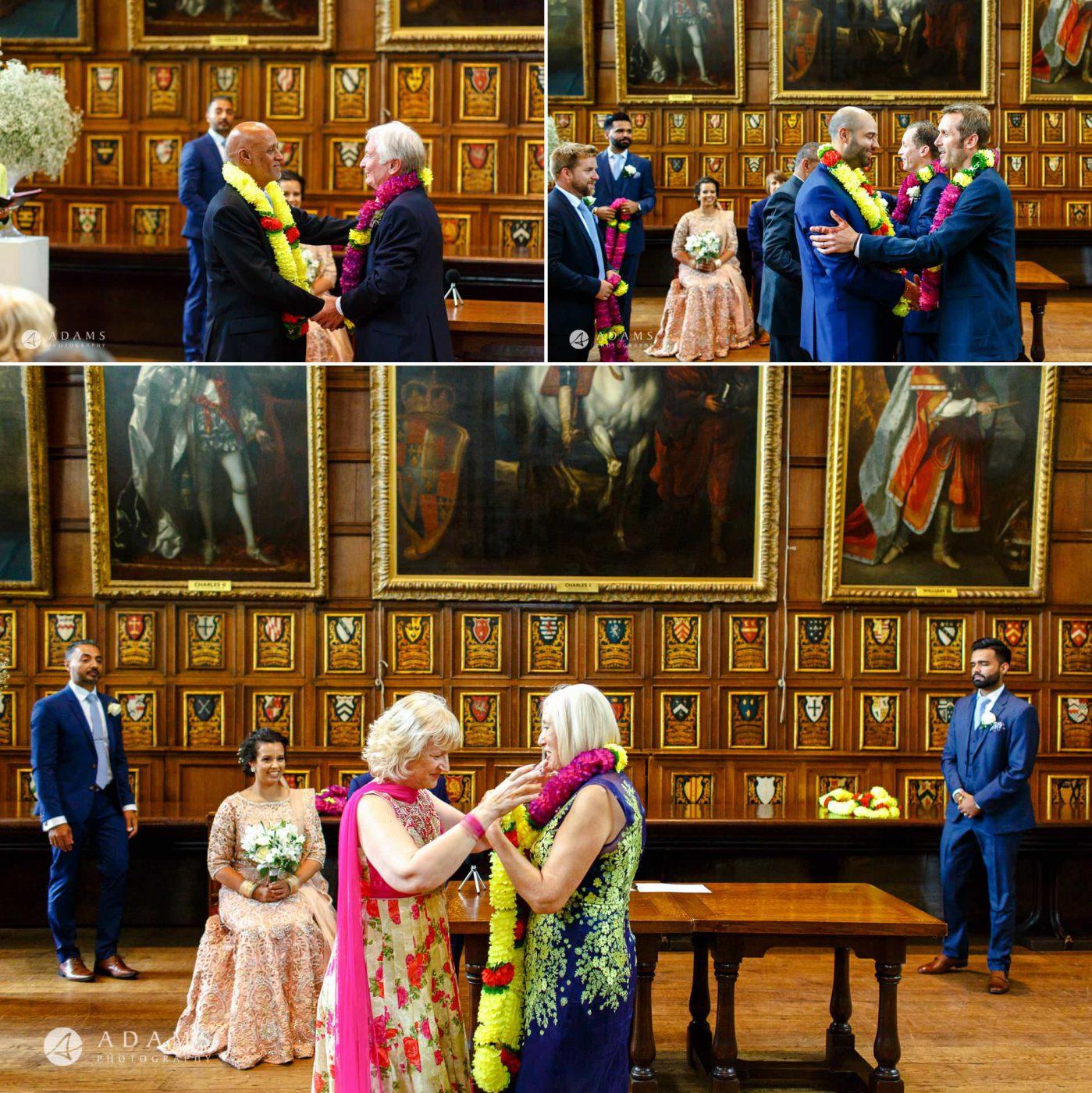 middle temple hall wedding garlands exchange