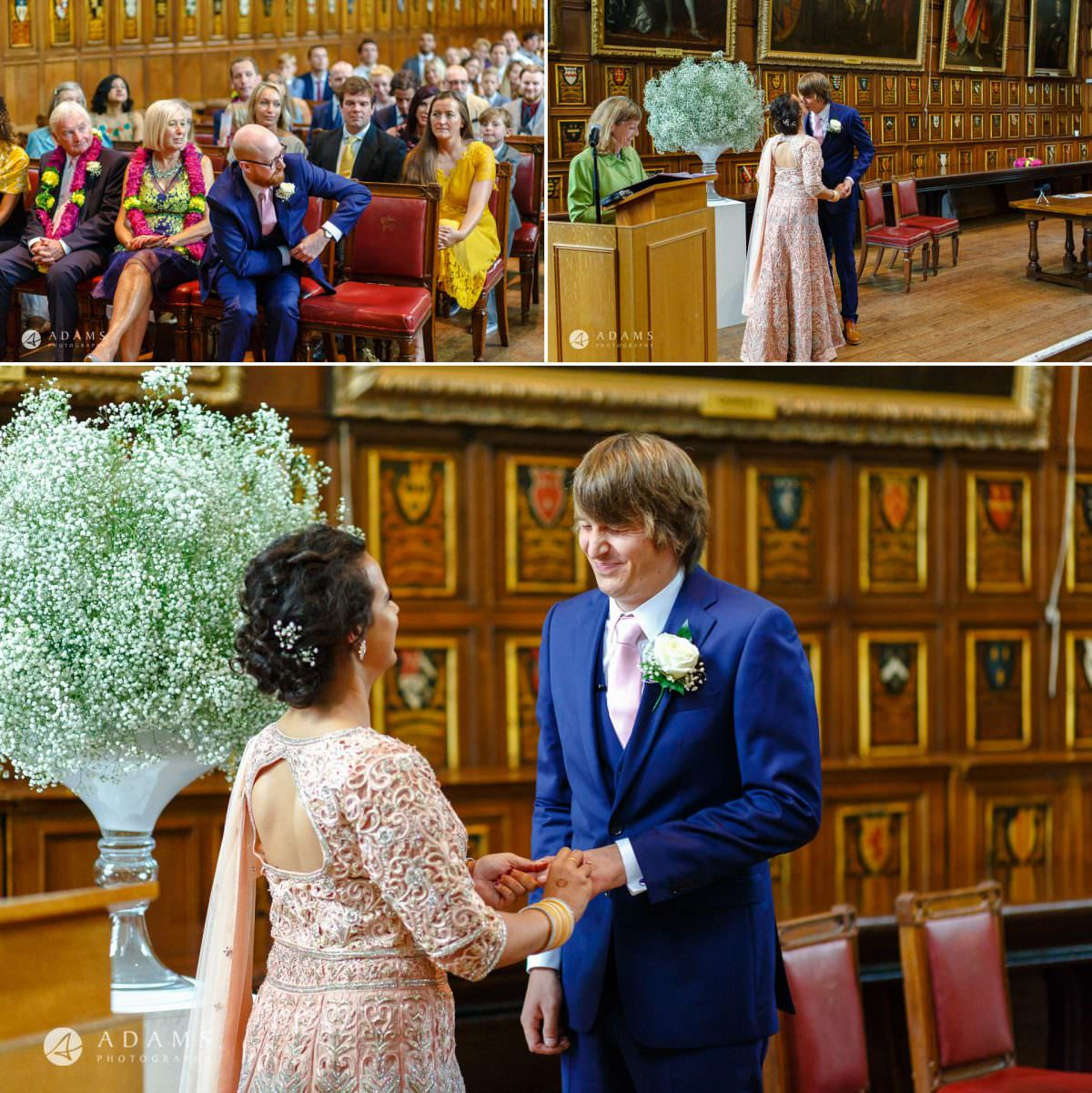 middle temple hall wedding ring exchange