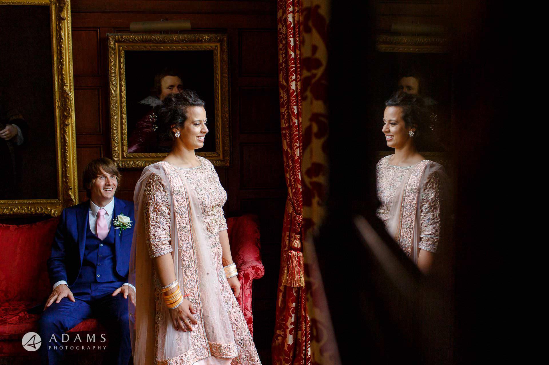 middle temple hall wedding couple photo shot