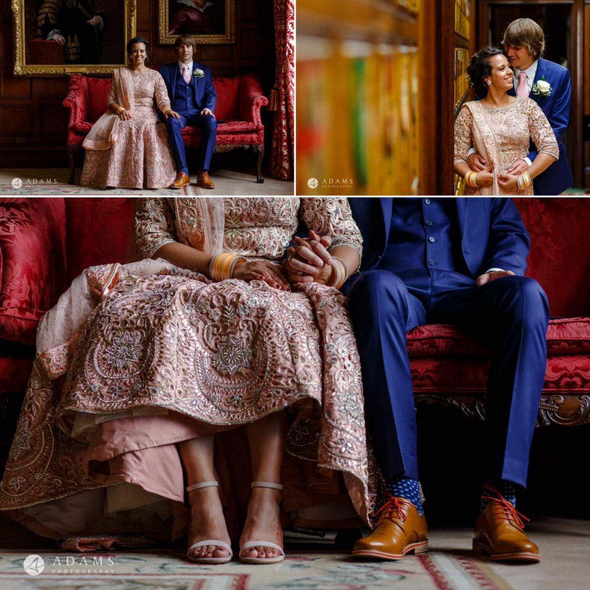 middle temple hall wedding couple portraits