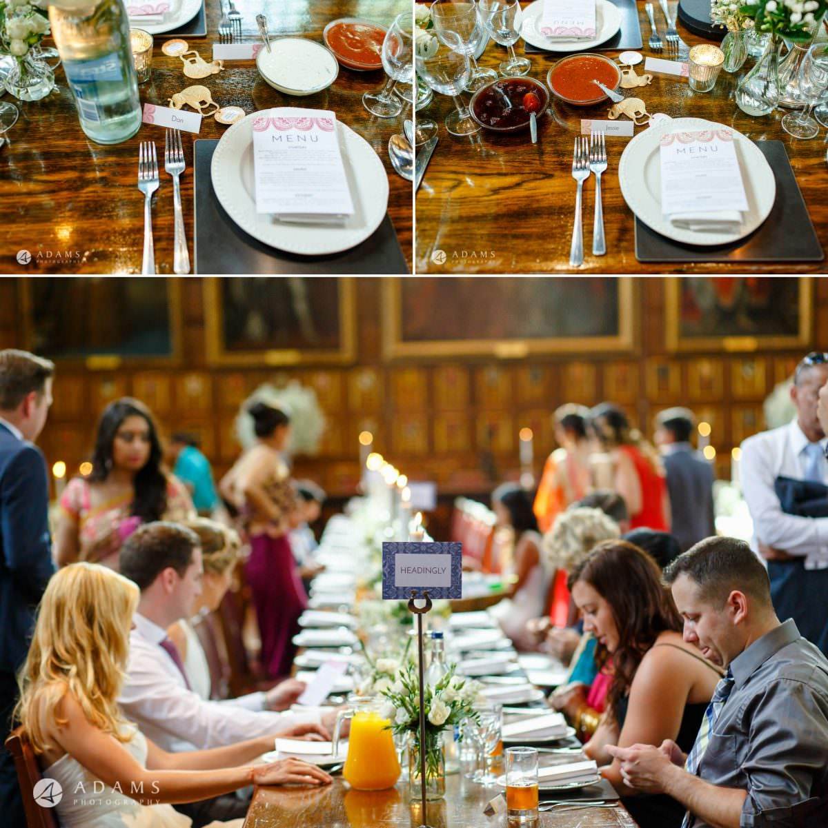 middle temple hall wedding breakfast