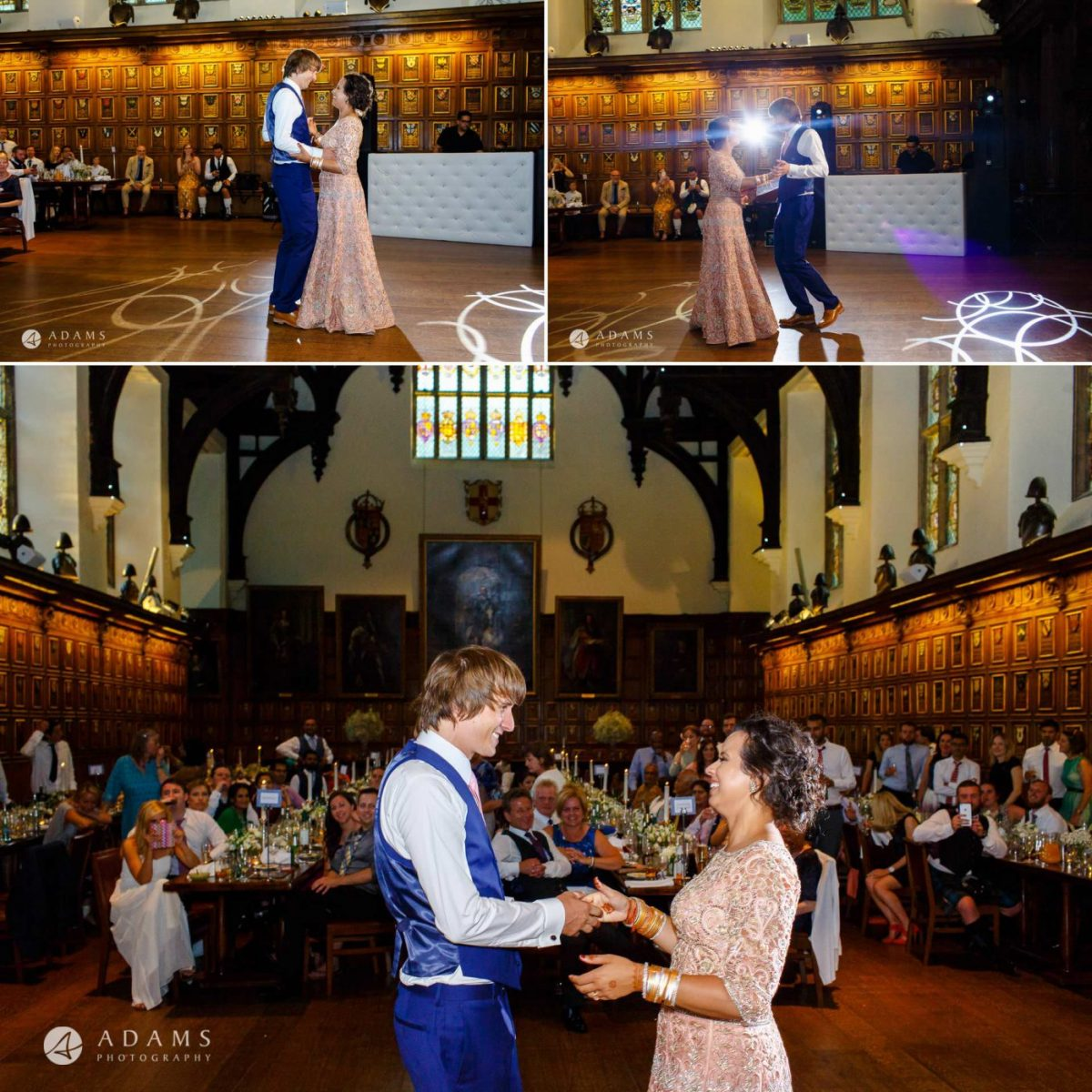middle temple hall wedding first dance
