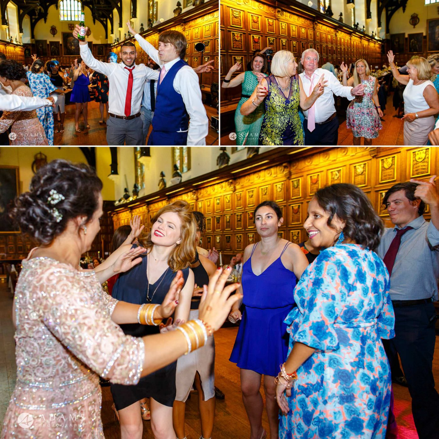 middle temple hall wedding party dancing