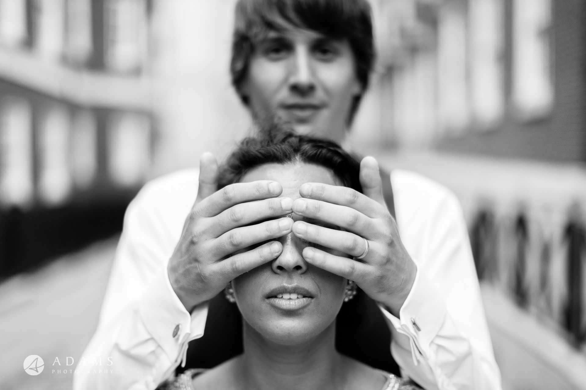 middle temple hall wedding couple portrait