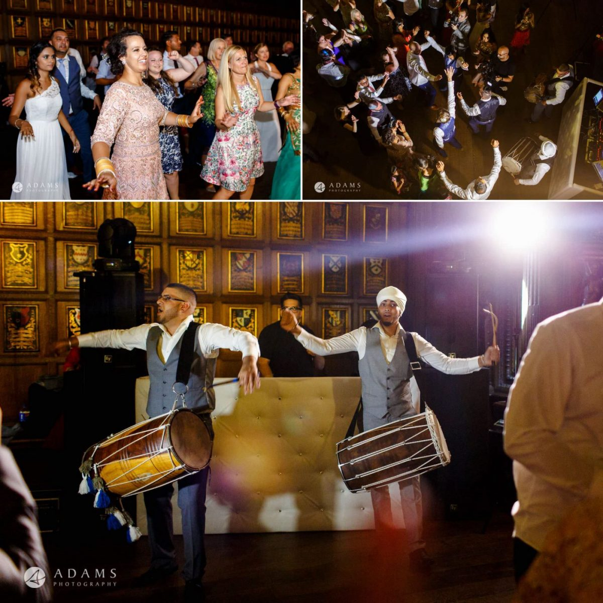 middle temple hall wedding photography drummers