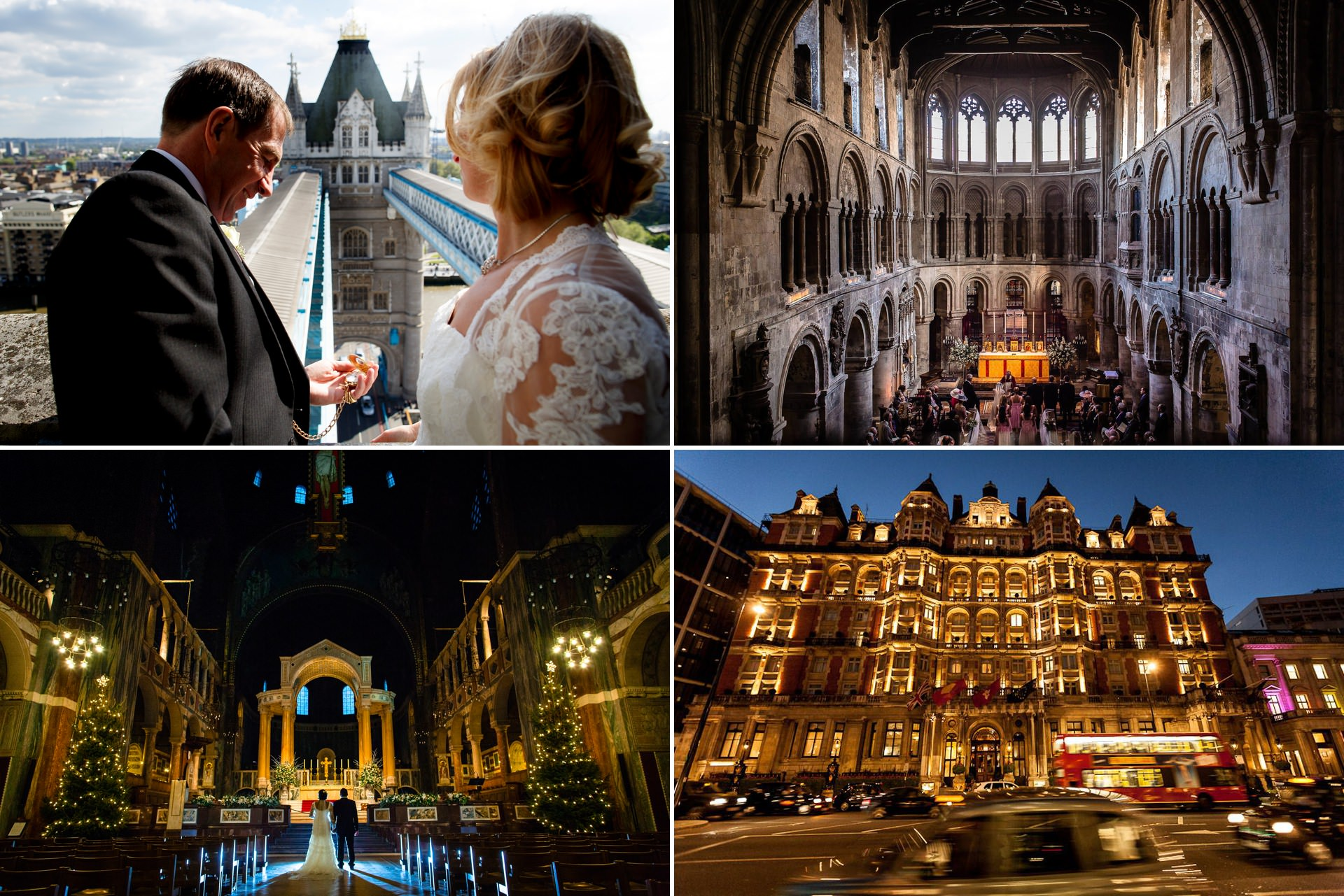 variety of stunning London venues for weddings and wedding photography