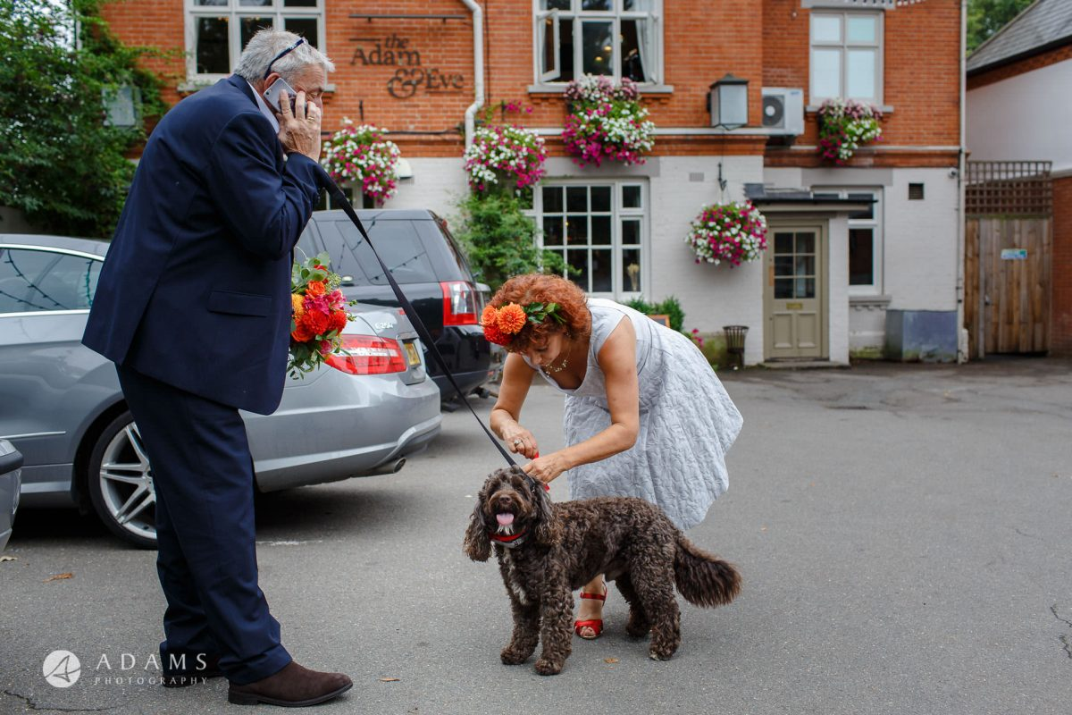 The Adam & Eve Pub Wedding Photographer | Caroline + Nick 1