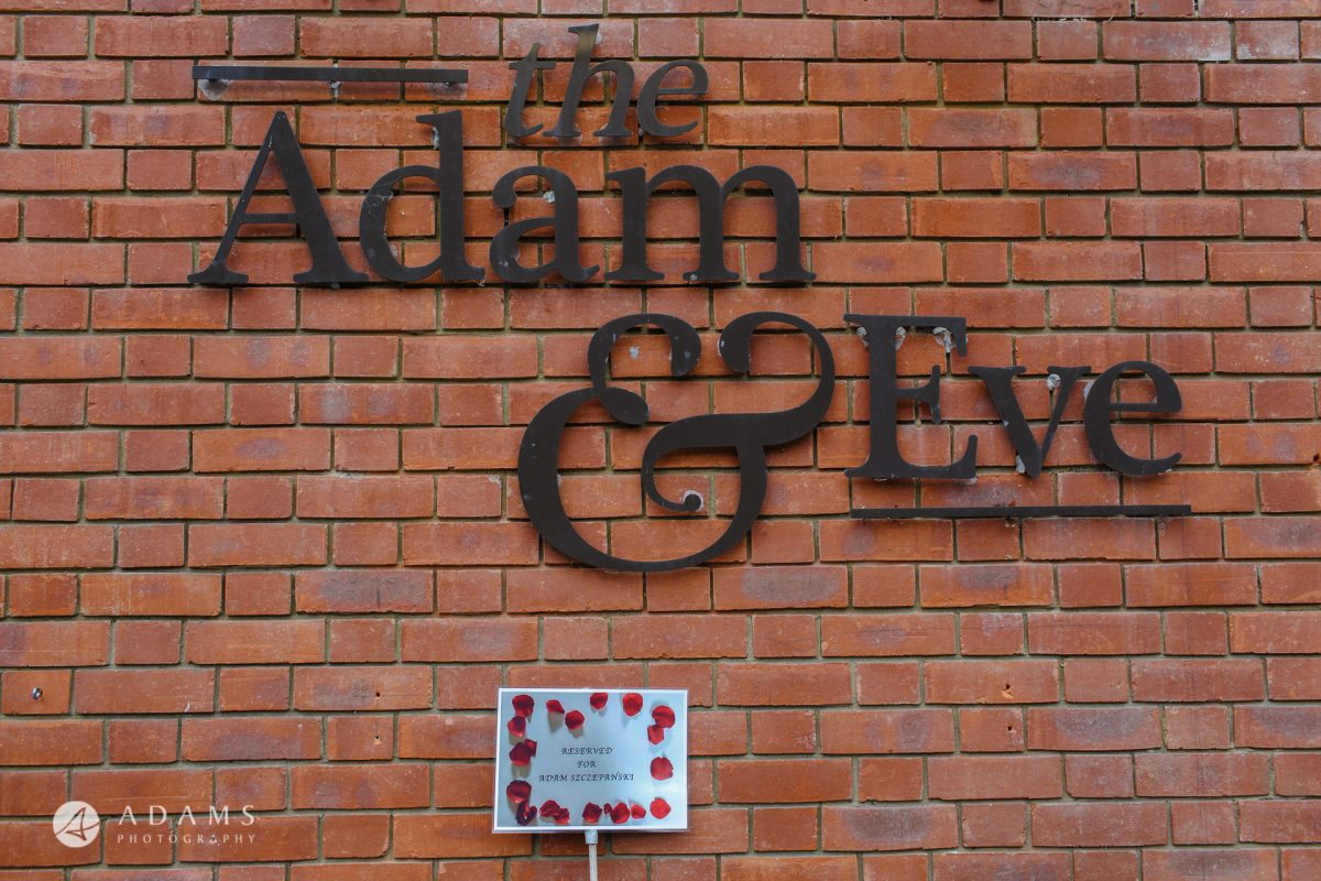 The Adam & Eve Pub Wedding Photographer | Caroline + Nick 2