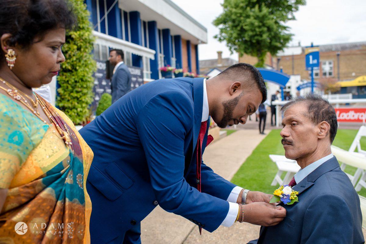 Windsor Racecourse Wedding Photographer | Saranya + Gobi 73