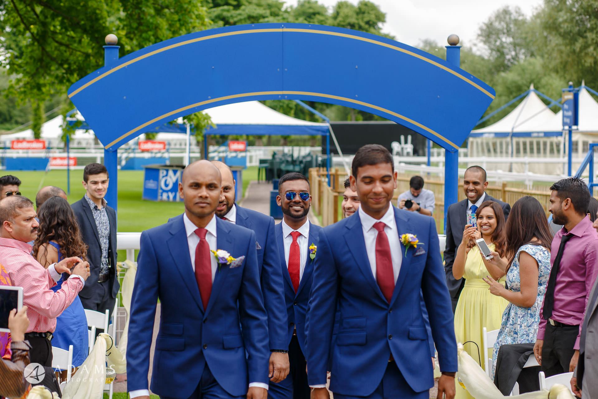 Windsor Racecourse Wedding Photographer | Saranya + Gobi 17