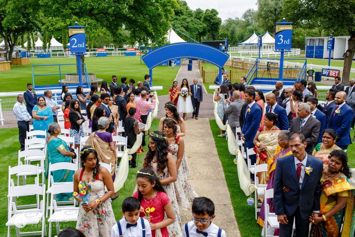 Windsor Racecourse Wedding Photographer | Saranya + Gobi 19