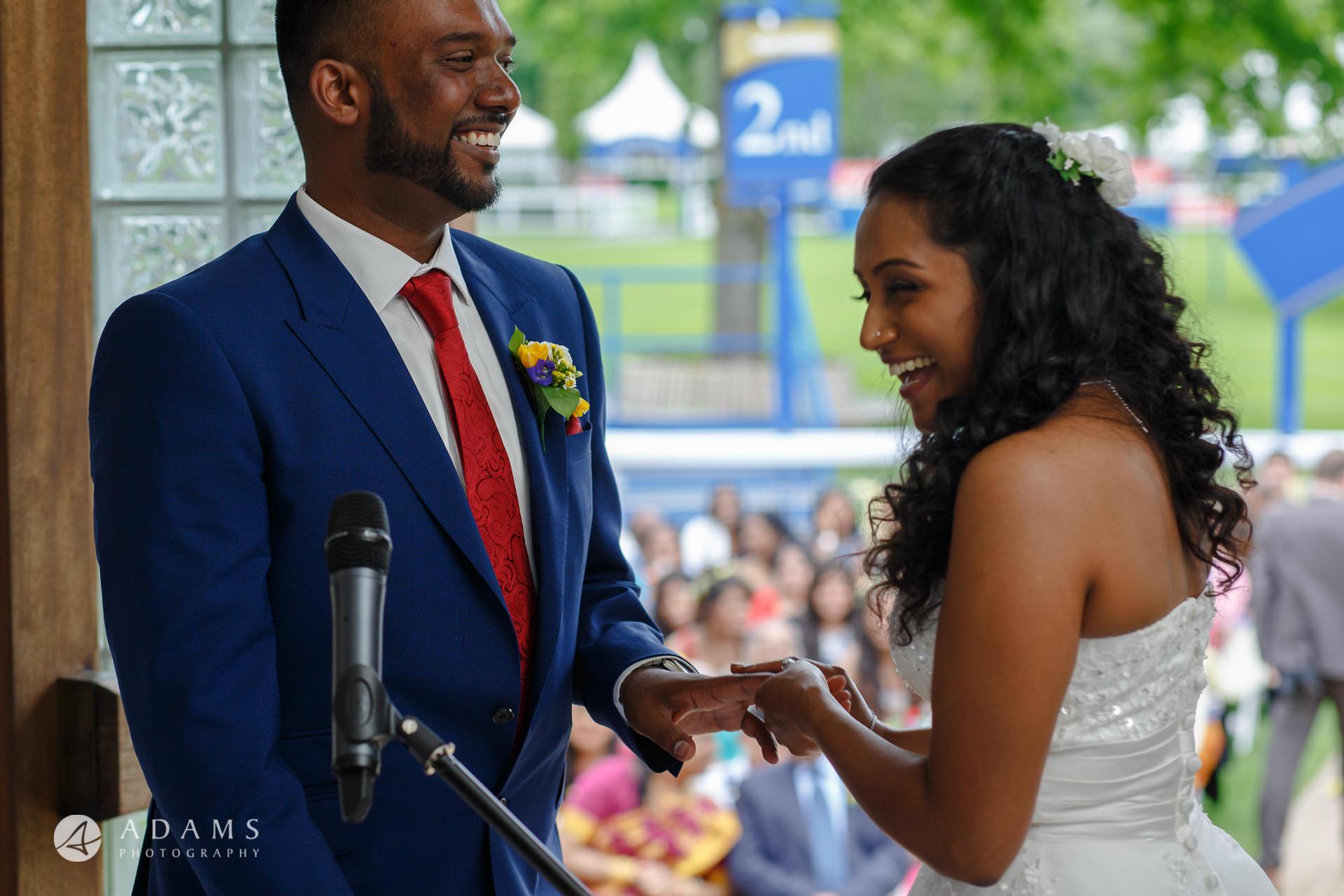 Windsor Racecourse Wedding Photographer | Saranya + Gobi 24