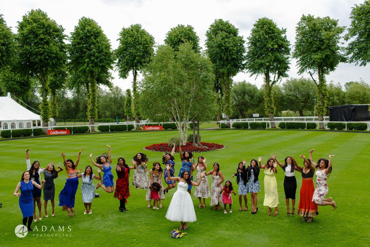 Windsor Racecourse Wedding Photographer | Saranya + Gobi 29