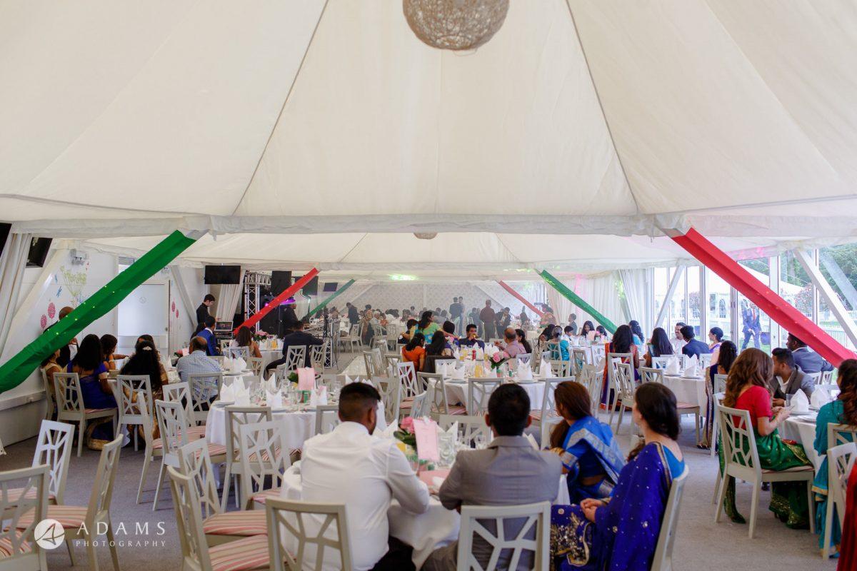 Windsor Racecourse Wedding Photographer | Saranya + Gobi 35