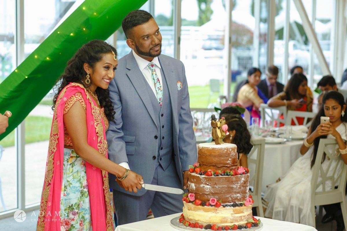 Windsor Racecourse Wedding Photographer | Saranya + Gobi 45