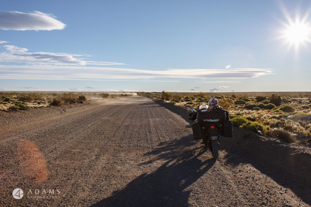 Escape to Nature - Patagonia on motorcycle by Adams 11