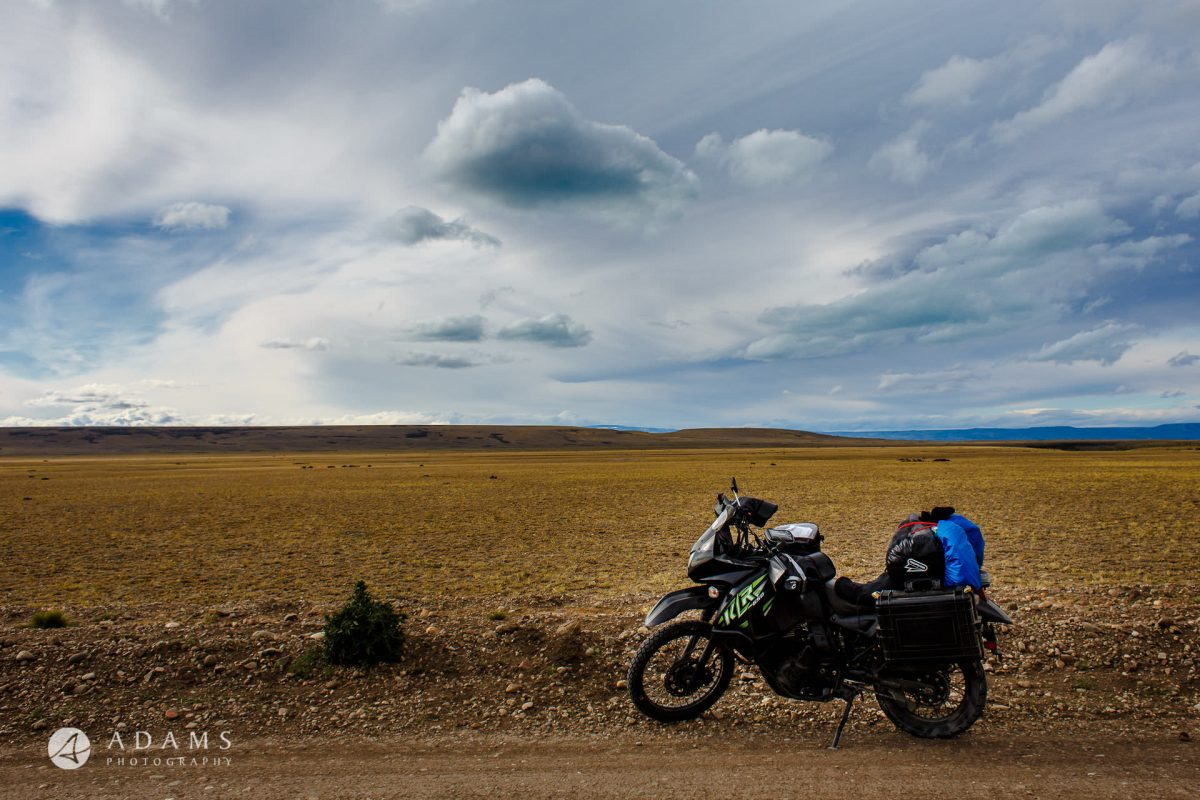 Escape to Nature - Patagonia on motorcycle by Adams 14