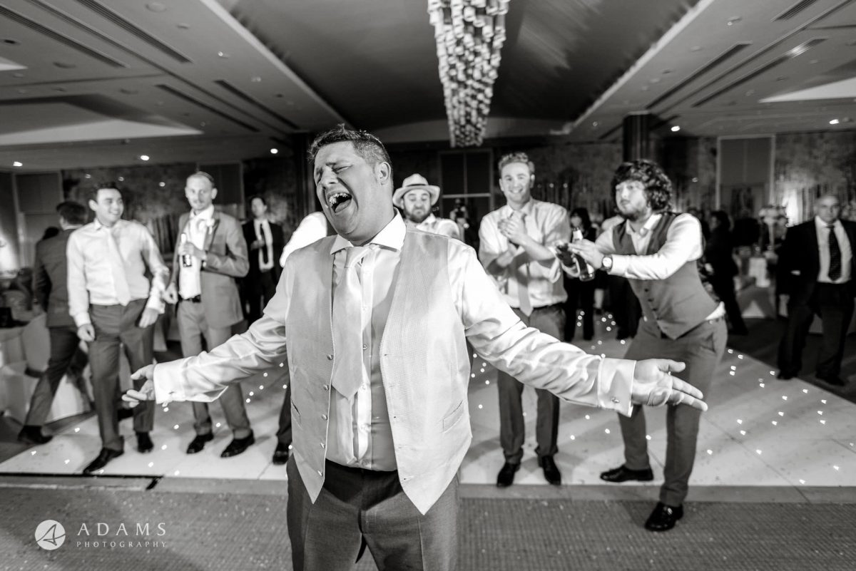 wedding photography in the grove hotel
