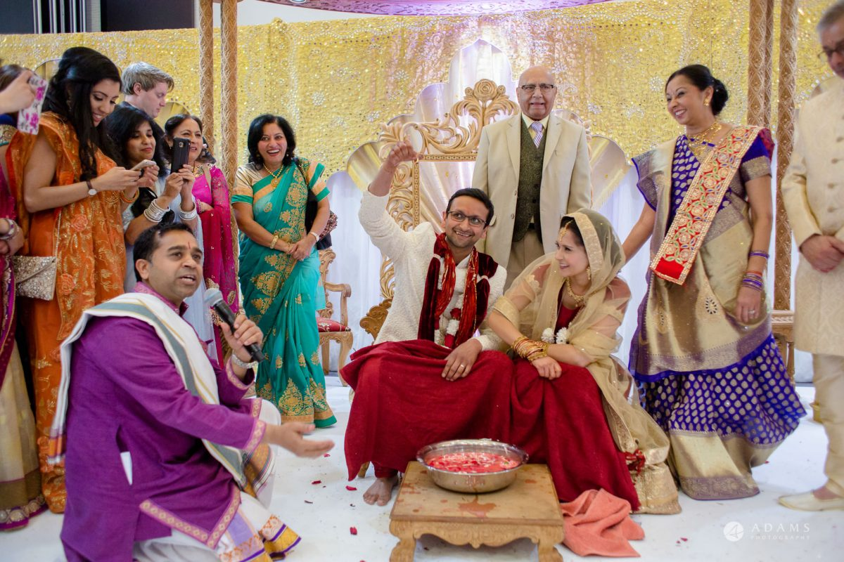 Hilton London Syon Park Asian Wedding hindu ceremony games