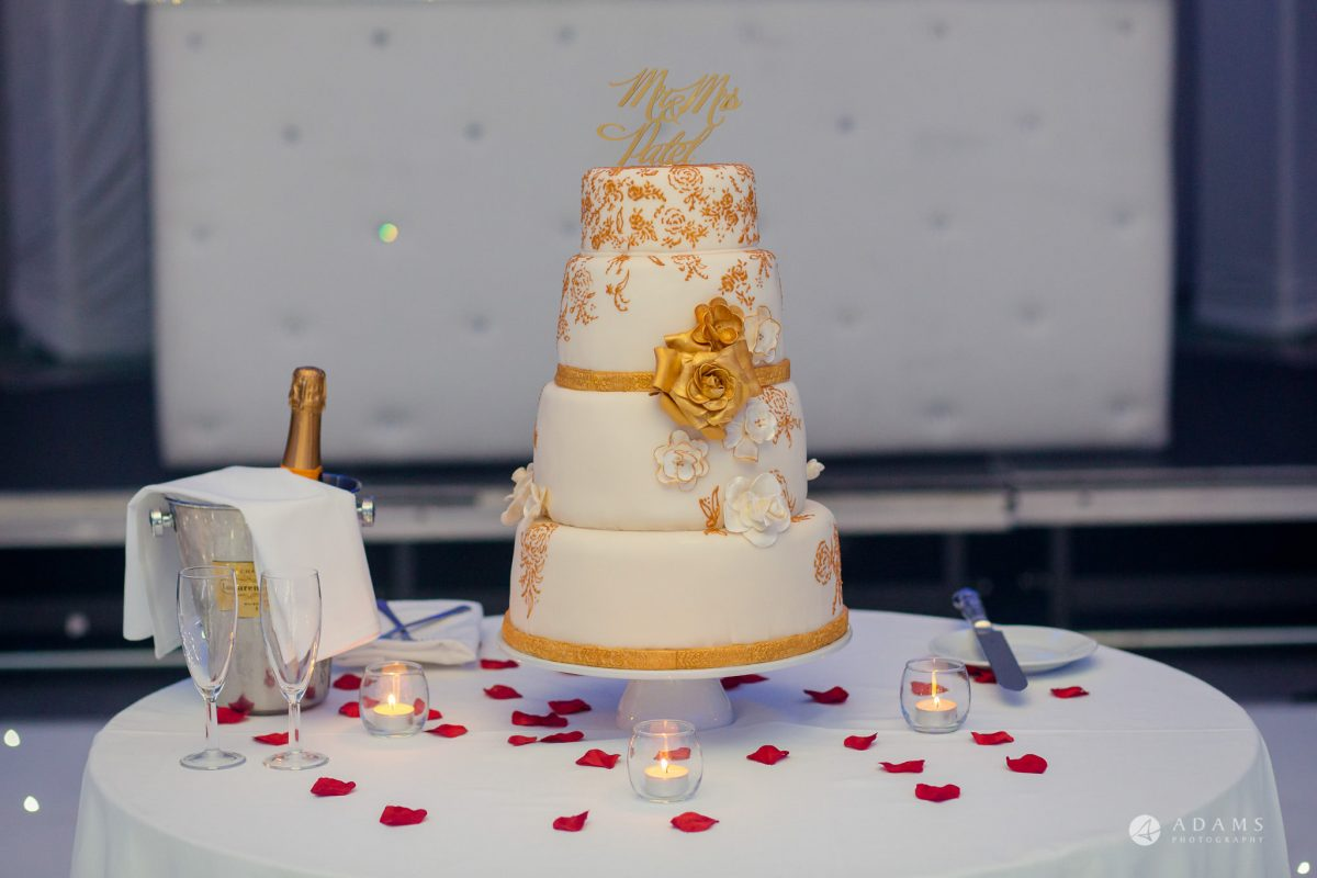 Hilton London Syon Park Asian Wedding cake