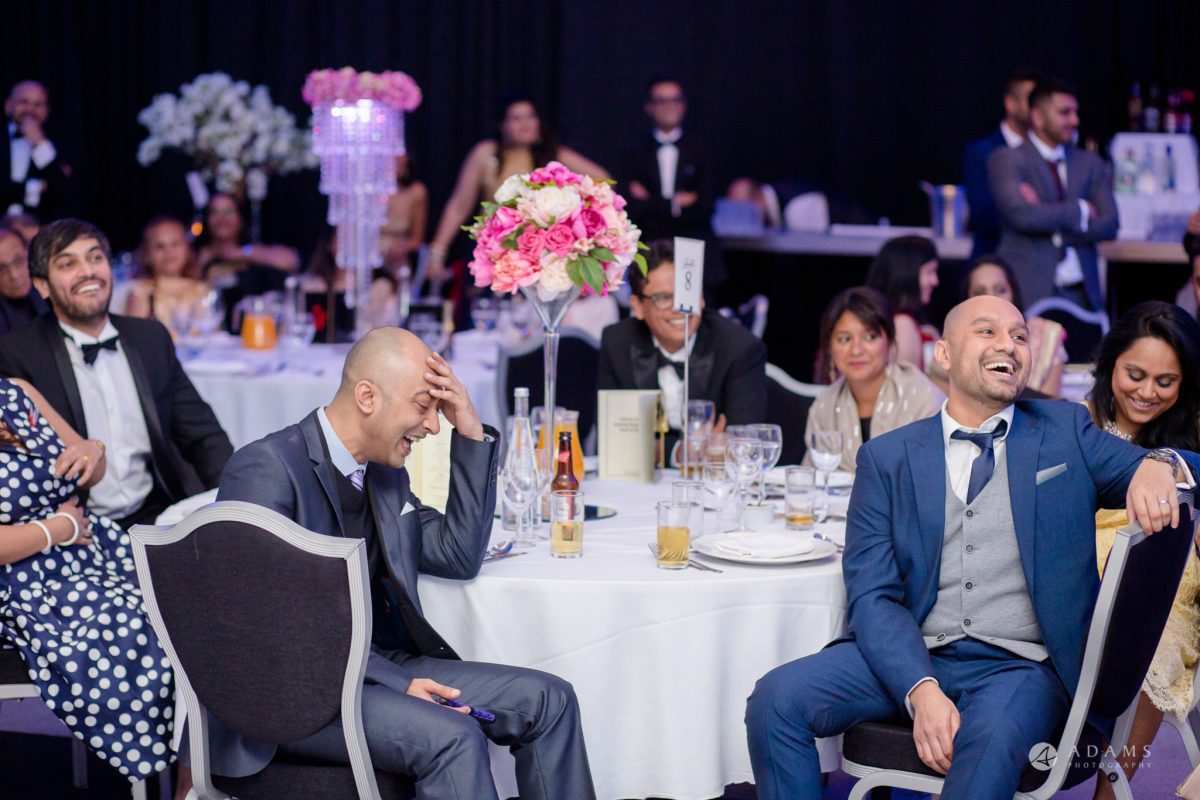 Hilton London Syon Park Asian Wedding guests reaction