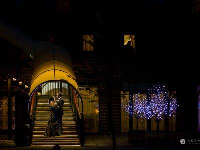 Hilton London Syon Park Asian Wedding couple photo shoot