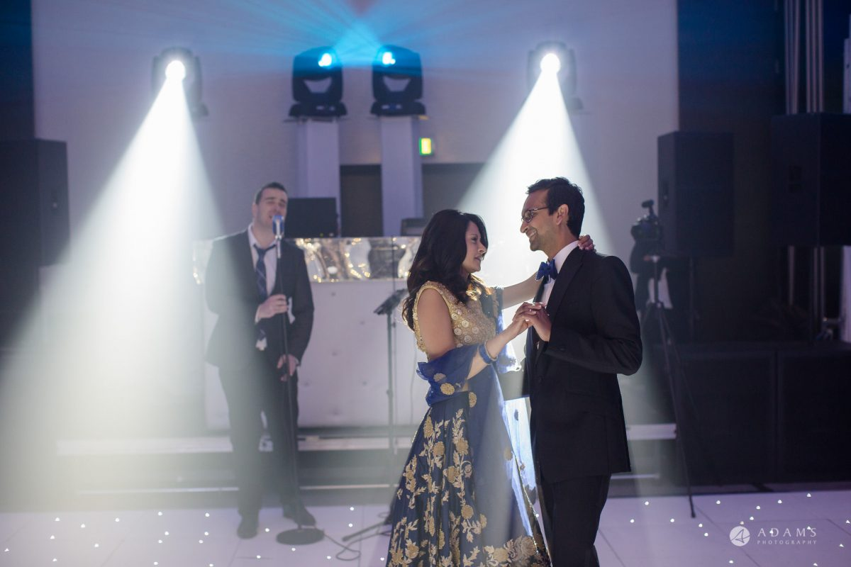 Hilton London Syon Park Asian Wedding first dance