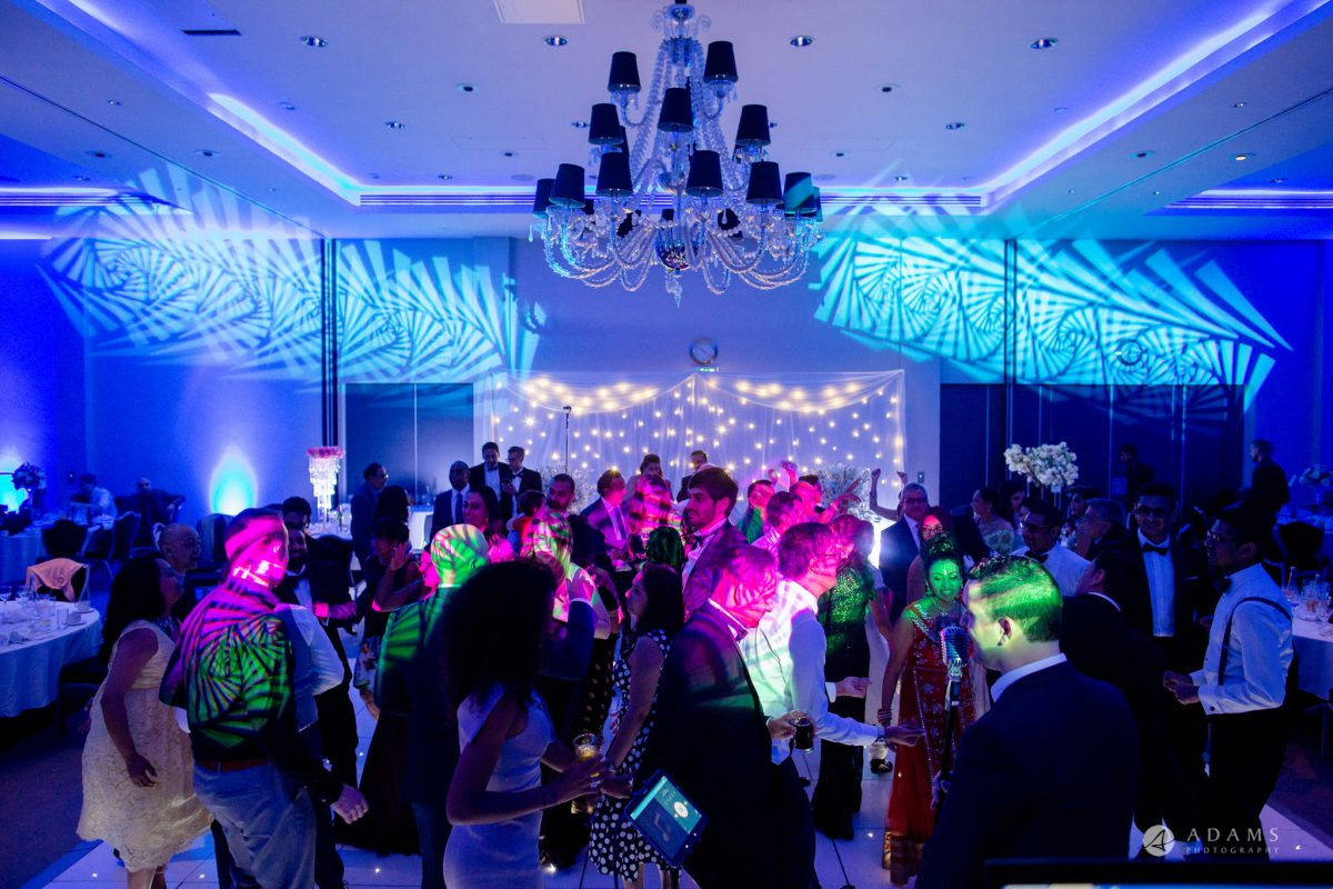 Hilton London Syon Park Asian Wedding dancing party