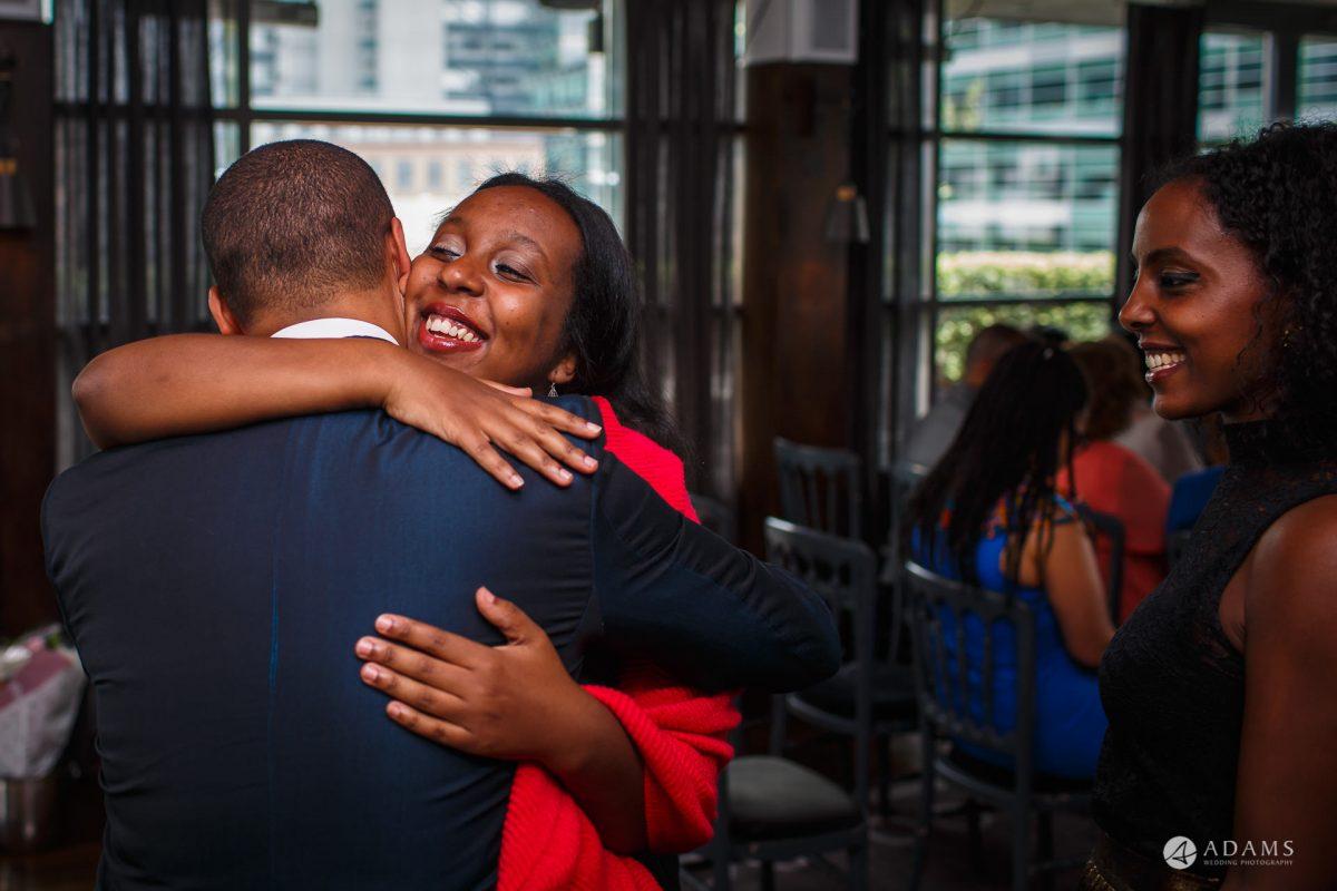 Eight Members Club Moorgate London Wedding Photography | Marina + Abiy 50