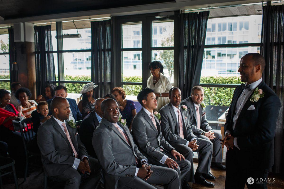 Eight Members Club Moorgate London Wedding Photography | Marina + Abiy 54