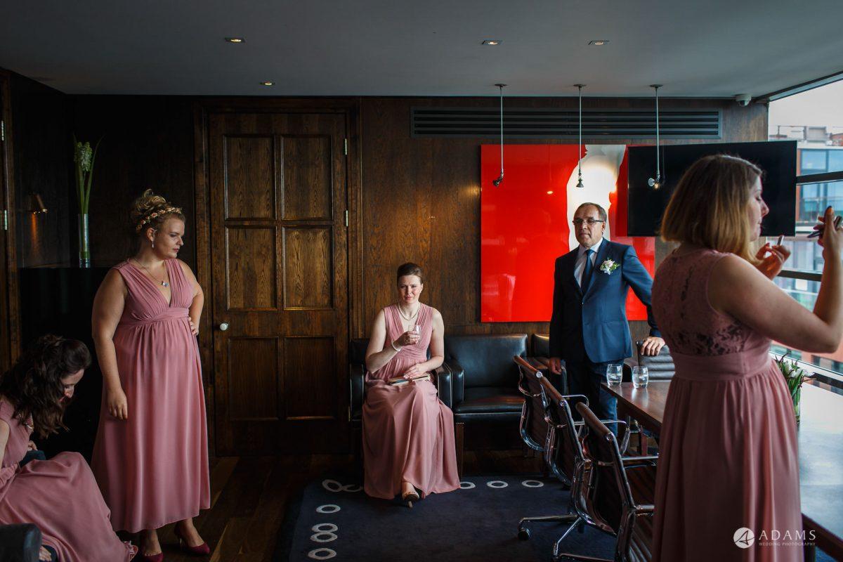 Eight Members Club Moorgate London Wedding Photography | Marina + Abiy 56