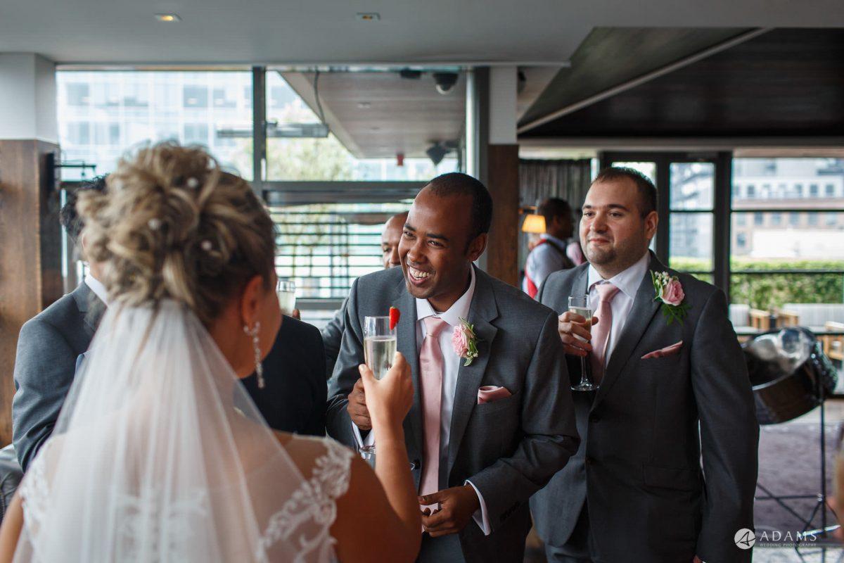 Eight Members Club Moorgate London Wedding Photography | Marina + Abiy 66